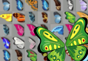 Schmetterlingsmahjong